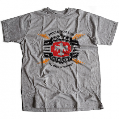 Mobile Infantry Mens T-shirt