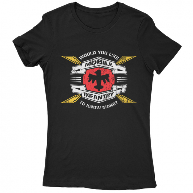 Mobile Infantry Womens T-shirt