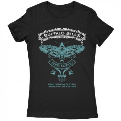 Buffalo Bill's Body Lotion Womens T-shirt