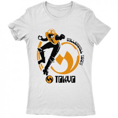 Tokyo Rollerball Womens T-shirt