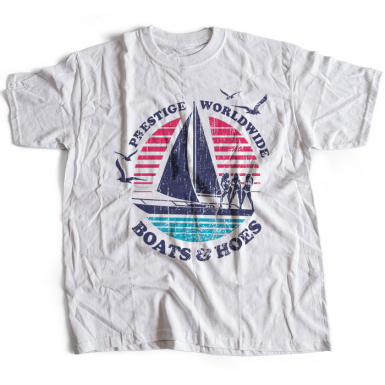 Boats N Hoes Mens T-shirt