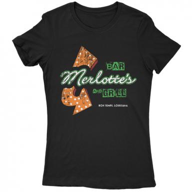 Merlotte's Bar Womens T-shirt