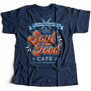 Soul Food Cafe Mens T-shirt