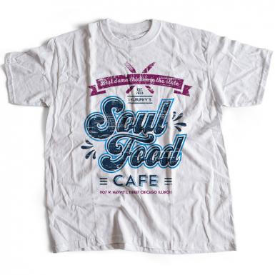 Soul Food Cafe Mens T-shirt