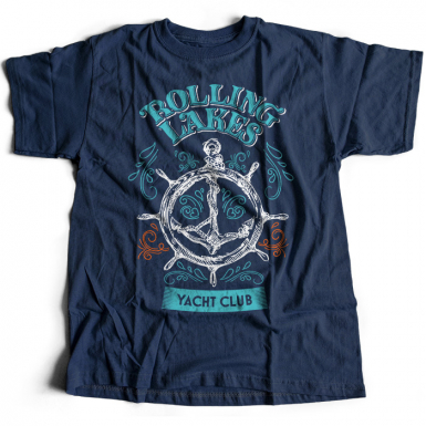 Rolling Lakes Yacht Club Mens T-shirt