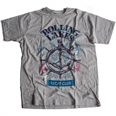 Rolling Lakes Yacht Club Mens T-shirt