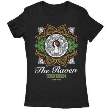 The Raven Tavern Womens T-shirt