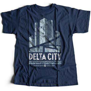 Delta City Mens T-shirt