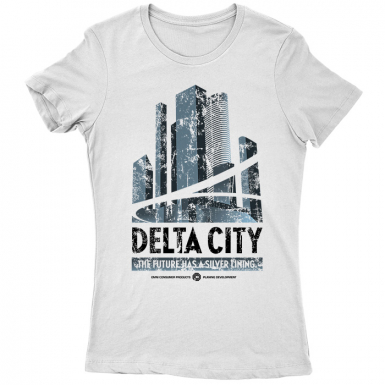 Delta City Womens T-shirt