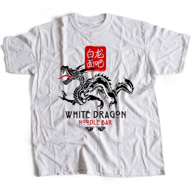 White Dragon Noodle Bar Mens T-shirt