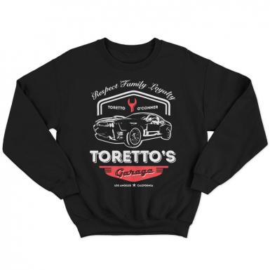 Toretto's Garage Unisex Sweatshirt
