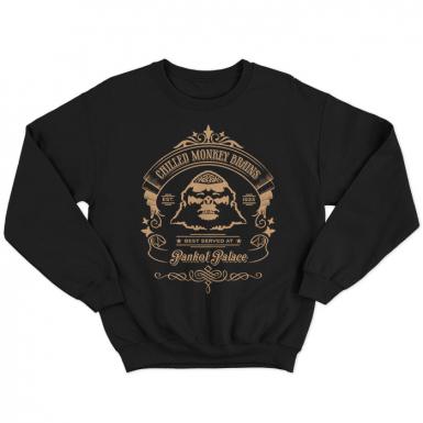 Chilled Monkey Brains Unisex Sweatshirt