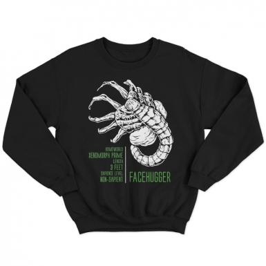 Facehugger Unisex Sweatshirt