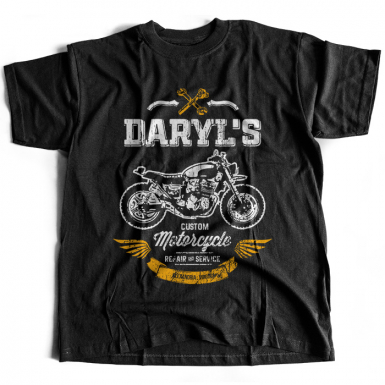Daryl's Custom Motorcycle Repair & Service Mens T-shirt