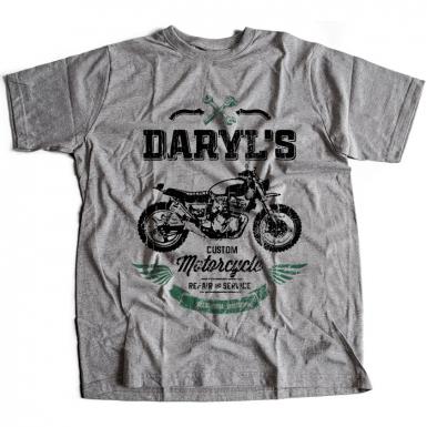 Daryl's Custom Motorcycle Repair & Service Mens T-shirt
