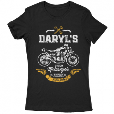 Daryl's Custom Motorcycle Repair & Service Womens T-shirt