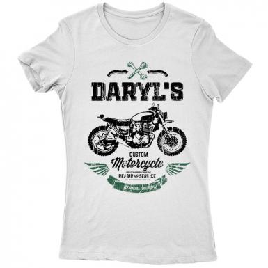 Daryl's Custom Motorcycle Repair & Service Womens T-shirt
