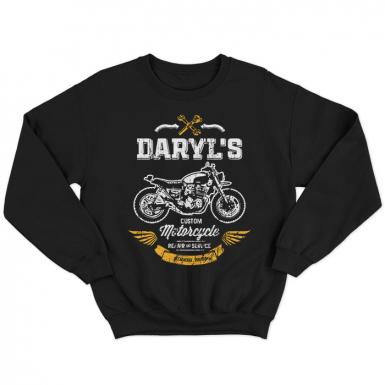 Daryl's Custom Motorcycle Repair & Service Unisex Sweatshirt