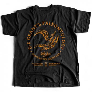Dr. Grant's Paleontology Mens T-shirt