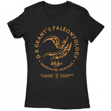 Dr. Grant's Paleontology Womens T-shirt