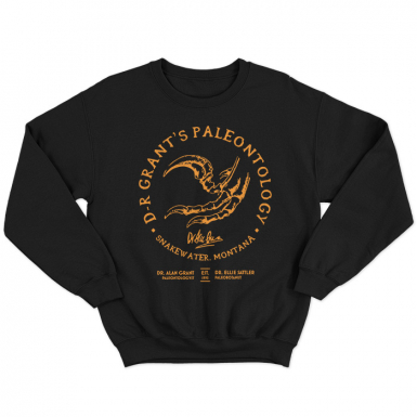 Dr. Grant's Paleontology Unisex Sweatshirt