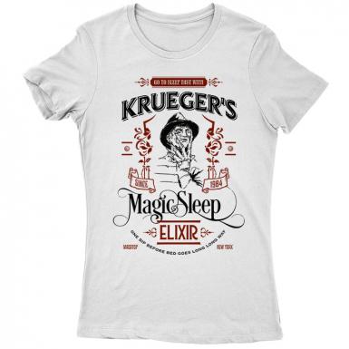 Krueger's Elixir Womens T-shirt