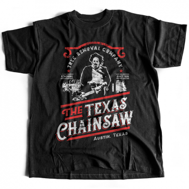 Leatherface Tree Removal Mens T-shirt