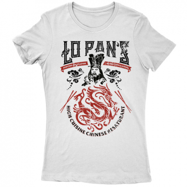 Lo Pans Restaurant Womens T-shirt