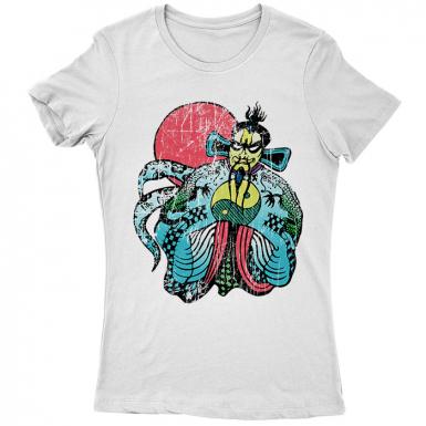 Fu Manchu Womens T-shirt