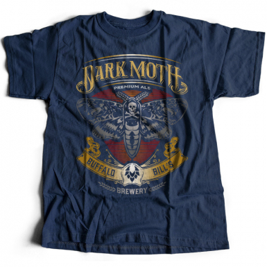 Buffalo Bill's Dark Moth Mens T-shirt