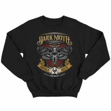 Buffalo Bill's Dark Moth Unisex Sweatshirt