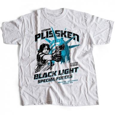 Snake Plissken Black Force Mens T-shirt
