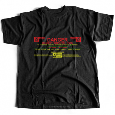 USCSS Nostromo Self Destruct System Mens T-shirt