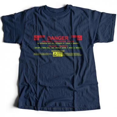 USCSS Nostromo Self Destruct System Mens T-shirt