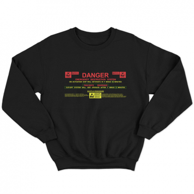 USCSS Nostromo Self Destruct System Unisex Sweatshirt