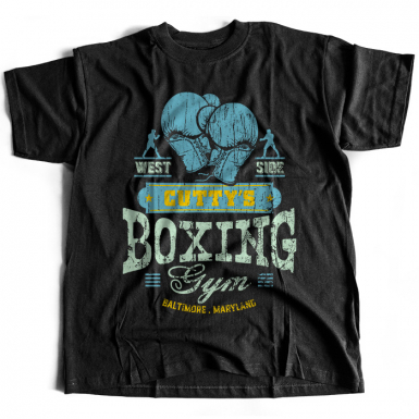 Cutty's Boxing Gym Mens T-shirt
