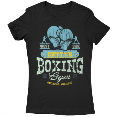 Cutty's Boxing Gym Womens T-shirt