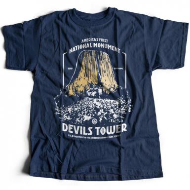 Devils Tower Mens T-shirt