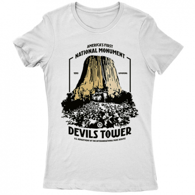 Devils Tower Womens T-shirt