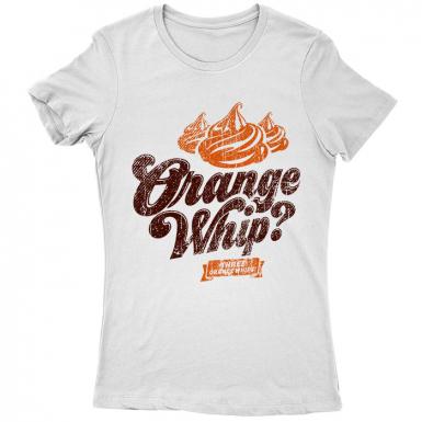 Orange Whip Womens T-shirt