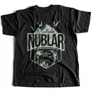 Isla Nublar Mens T-shirt