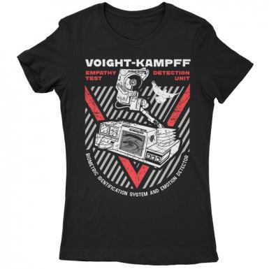 Voight-Kampff Empathy Test Womens T-shirt