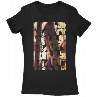 Beauty Kills Womens T-shirt
