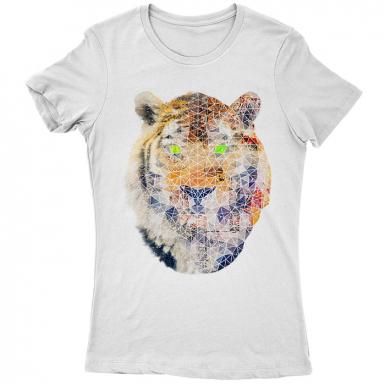 Biomec Poly Tiger Womens T-shirt