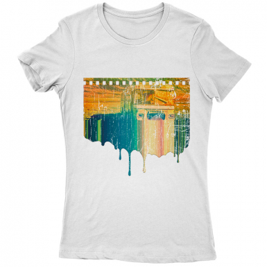 Bus To Nowhere Womens T-shirt