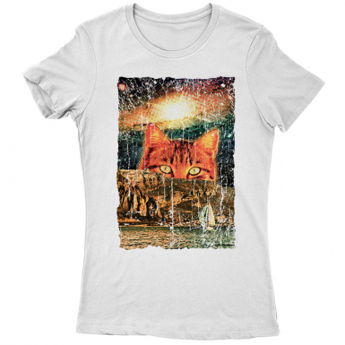 Catastic Trip Womens T-shirt