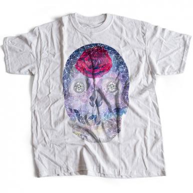 Crystal Skull Mens T-shirt
