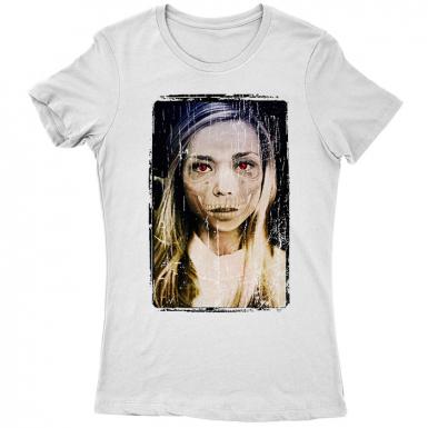Dead Girl Womens T-shirt
