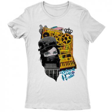 Detroit Hustle Womens T-shirt