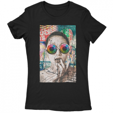 Dilated In Tokyo Womens T-shirt
